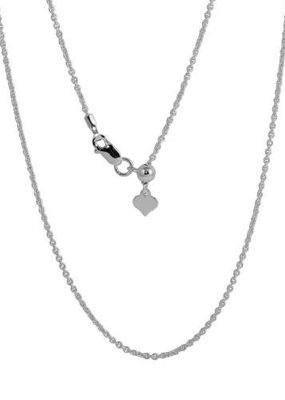 Sterling Silver Adjustable Link Slider Chain