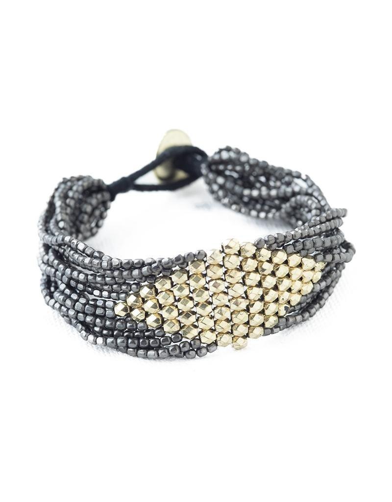 Beaded Multi-String Bracelet