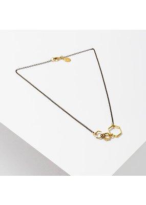 Larissa Loden Brass Ursa Mini Necklace