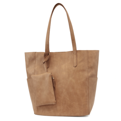 Joy Susan Camel North South Bella Tote