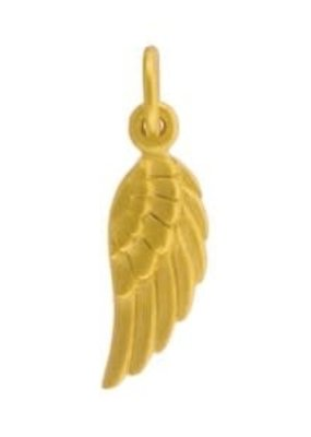 24k Gold Plated Angel Wing Charm