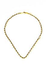 Santoré Baby Brass & Pyrite Double Chain Necklace