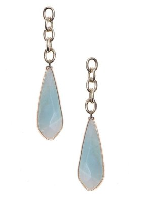 Nakamol Gold Amazonite Louisse Earrings