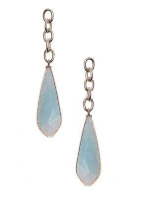 Nakamol Gold Amazonite Louisse Earrings