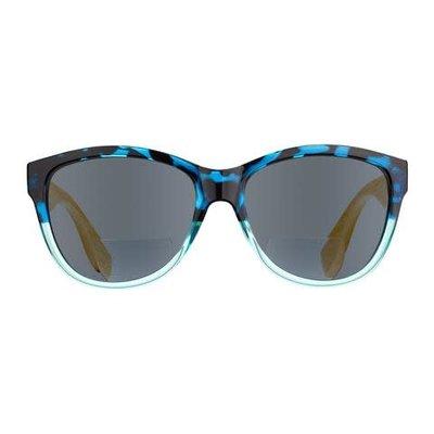 Blue Planet Island Bifocal Sun Reader Blue Tortoise