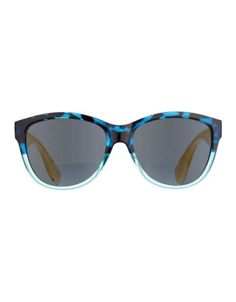 Blue Planet Island Bifocal Sun Reader Blue Tortoise