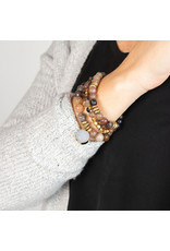 Lenny & Eva 8mm Gemstone Bracelet Fancy Jasper
