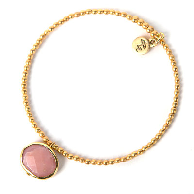 Lenny & Eva Pink Opal Ava Gemstone Bracelet