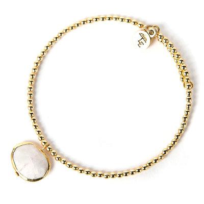 Lenny & Eva Moonstone Ava Gemstone Bracelet