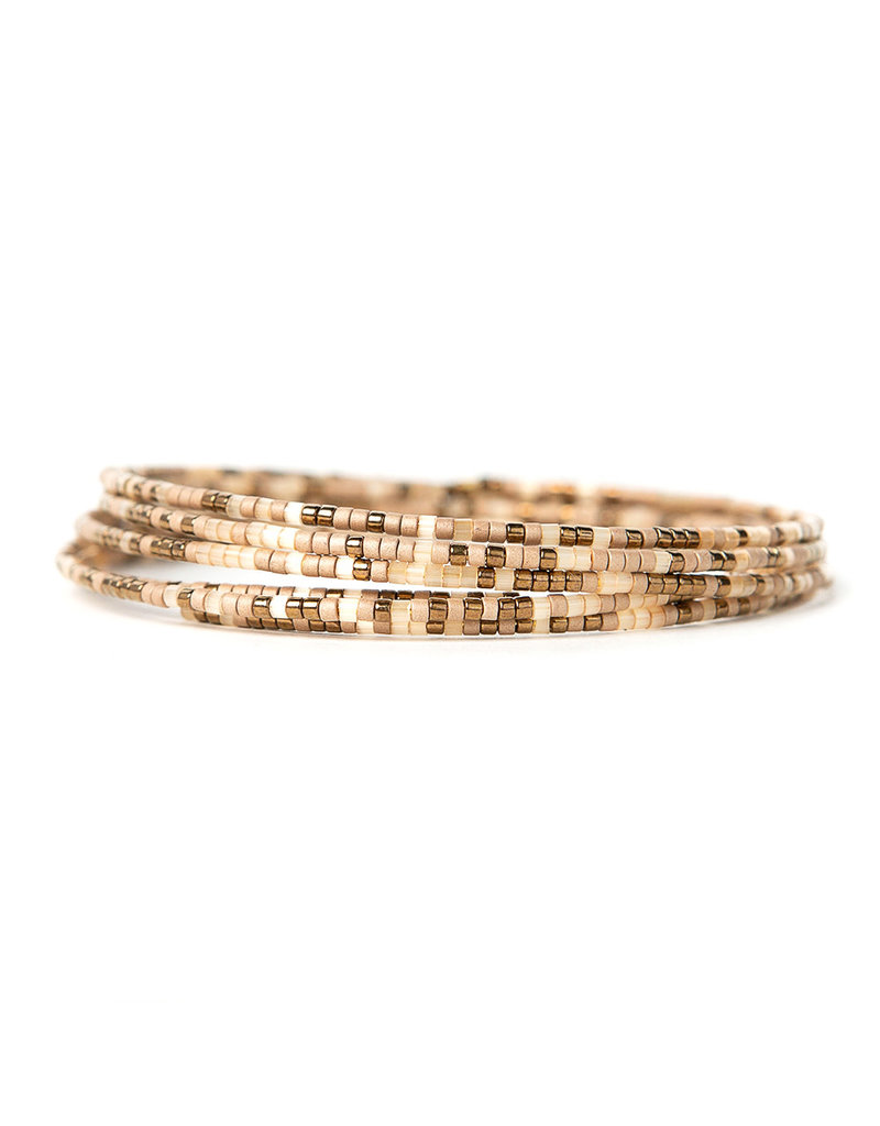 Lenny & Eva Norah Bangle Bronze Multi