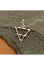 Sterling Silver Earth Element Charm