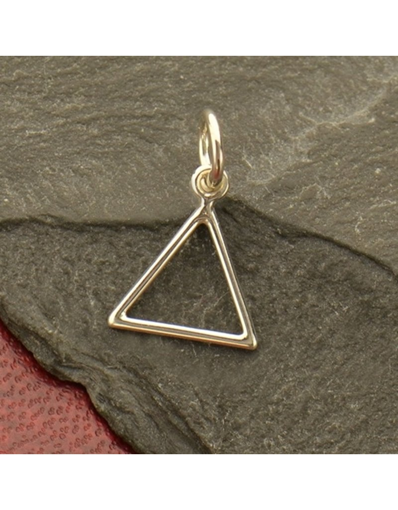 Sterling Silver Fire Element Charm