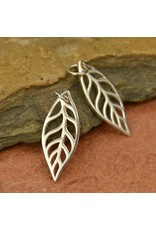 Sterling Silver Small Leaf Charm