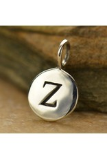 Sterling Silver Initial Z Charm