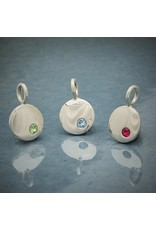 Sterling Silver Birthstone December Charm