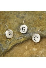 Sterling Silver Initial D Charm
