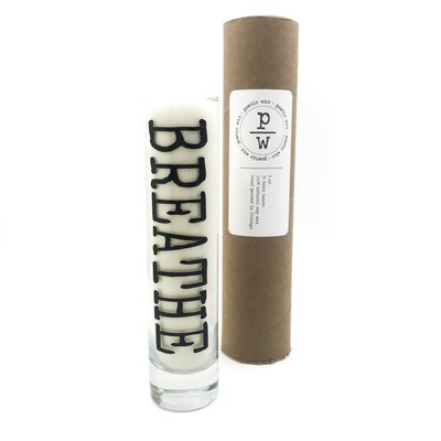 Poetic Wax Breathe Tall Candle