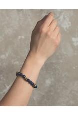 Lenny & Eva 8mm Gemstone Bracelet Lapis Lazuli