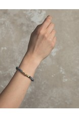 Lenny & Eva 6mm Gemstone Bracelet Labradorite