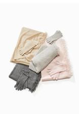 Look By M Premium Cashmere Blush Gloves