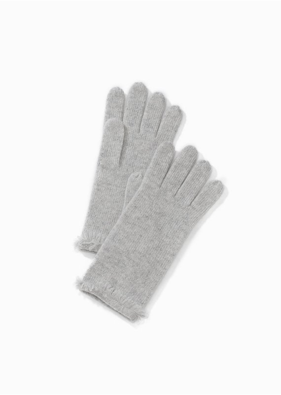 Look By M Premium Cashmere Grey Gloves