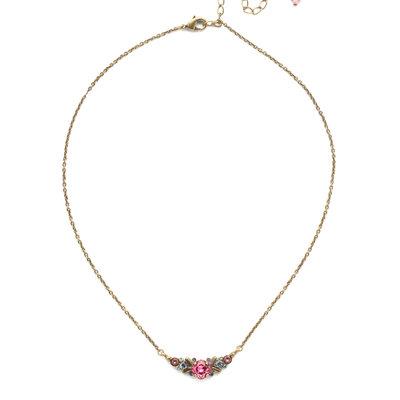 Sorrelli Aralia Delicate Pendant Necklace in Bohemian Bright