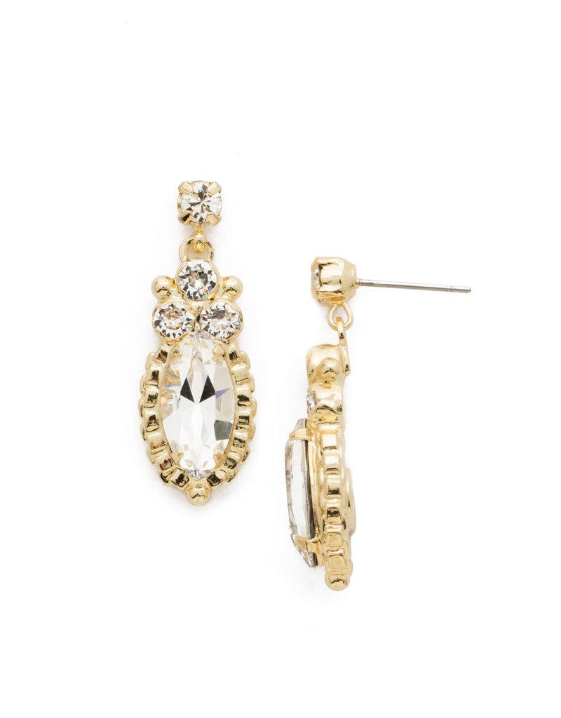 Sorrelli Noble Navette Drop Earring in Clear Crystal