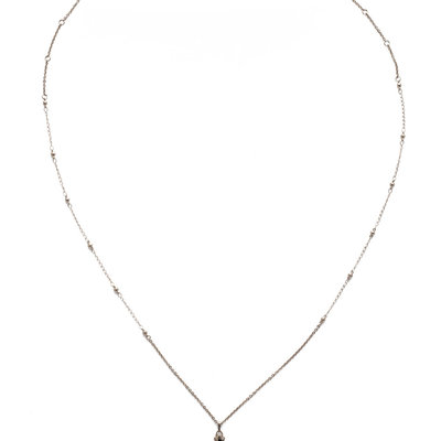 Sorrelli Elowen Necklace in Heavy Metal