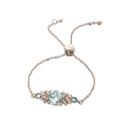 Sorrelli Rosina Slider Bracelet in Pastel Prep