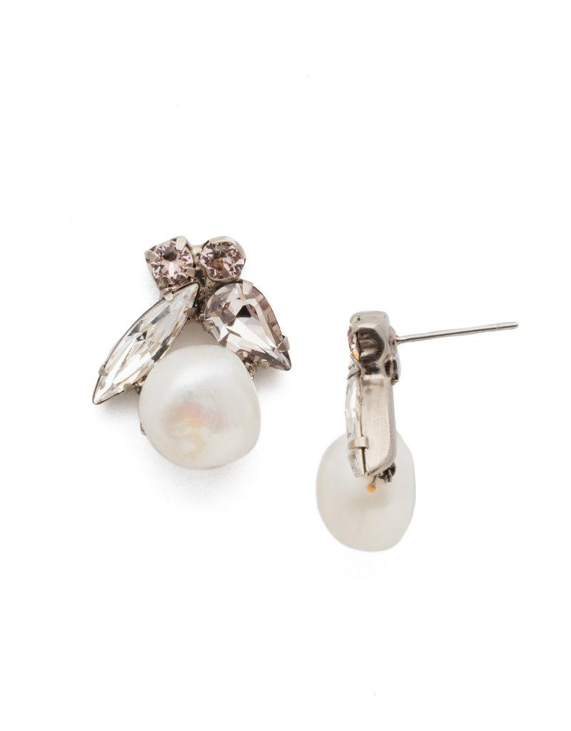 Sorrelli Elisa Post Earring in Soft Petal