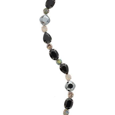 Sorrelli Black Onyx Narcissus Bracelet