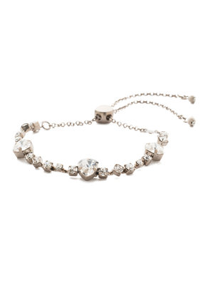 Sorrelli Sedge Slider Bracelet in Clear Crystal
