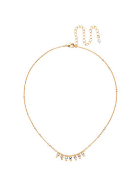 Sorrelli Crystal Delicate Dots Necklace