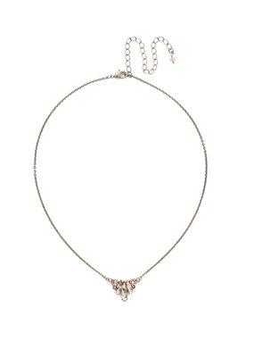 Sorrelli Sedum Pendant Necklace in Satin Blush