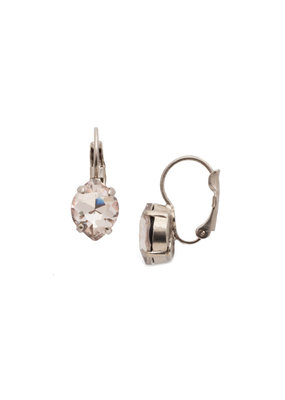 Sorrelli Crystal Crysathemum Earring In Soft Petal