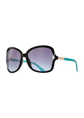 Blue Planet Anne Black Onyx & Gradiant Smoke Polarized Sunglasses