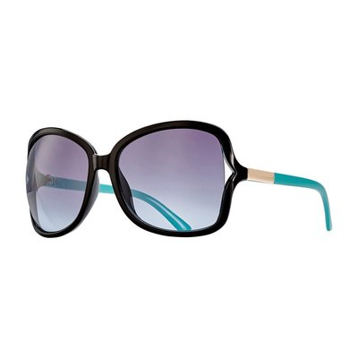 Blue Planet Anne Black Onyx & Gradiant Smoke Polarized Sunglasses