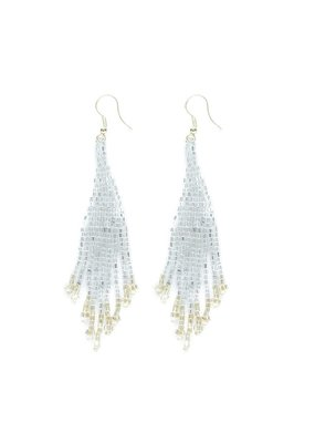Ink + Alloy Silver & Gold Small Fringe Earring