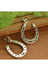 Sterling Silver Lucky Horseshoe Charm