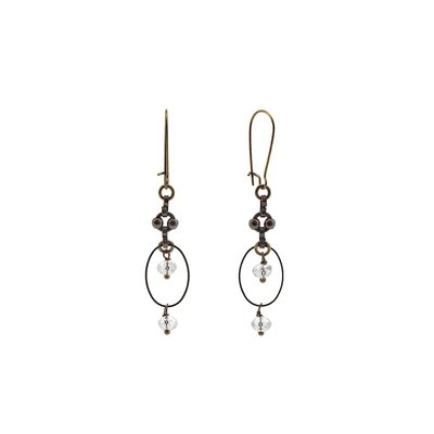 VB & Co. Designs Vintage Chain Connector Earrings