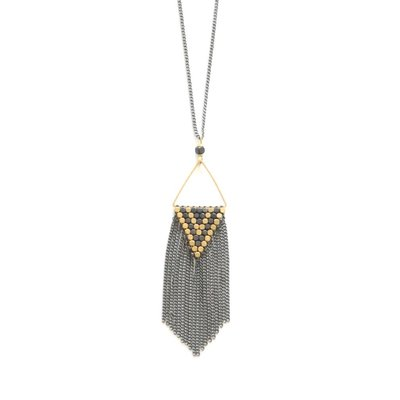 Didi Jewerly Project Ox Diamond Fringe Necklace