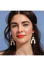 Larissa Loden Maroon Cass Earring