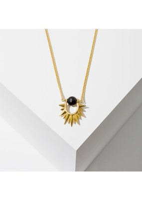 Larissa Loden Onyx Capri Necklace
