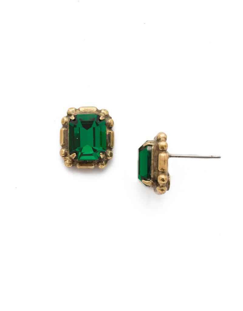 Sorrelli Game of Jewel Tones Stud Earring