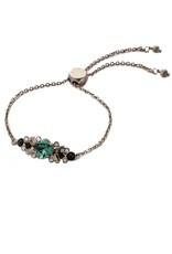Sorrelli Game Day Green Rosina Slider Bracelet