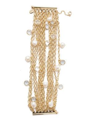 Sorrelli Modern Pearl Oceane Classic Bracelet