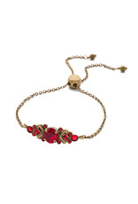 Sorrelli Sansa Red Rosina Slider Bracelet