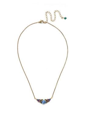 Sorrelli Game of Jewel Tones Aralia Delicate Pendant Necklace