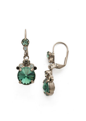 Sorrelli Game Day Green Crowning Around Earring