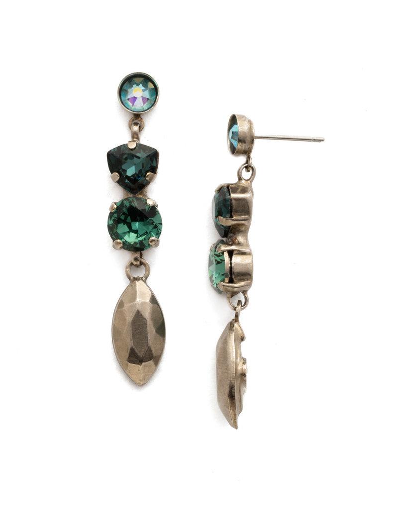 Sorrelli Blue Suede Toyon Earring